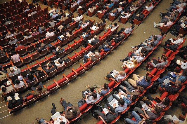 Auditorium - fear of public speaking