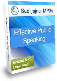 Public Speaking Subliminal MP3
