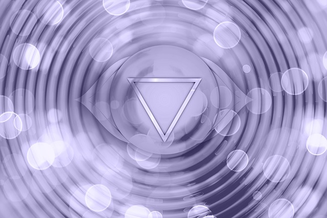 Third Eye Chakra Healing Frequency Image