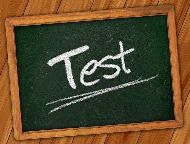 Test on blackboard - Exam Success Affirmations